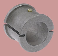 Graphalloy Bushings for Continuous Screw Conveyor Service